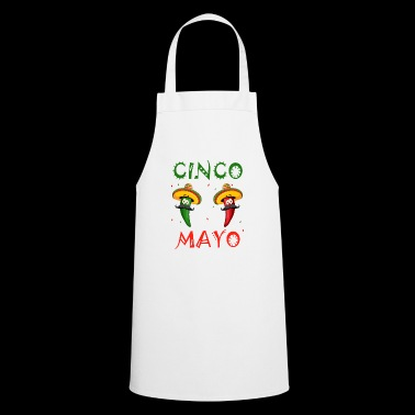 CInco de Mayo Party T-Shirt Cool Funny Fiesta Gift - Cooking Apron