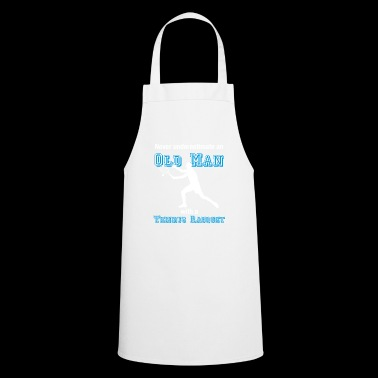 Old tennis player T-shirt tennis oldie farewell - Cooking Apron