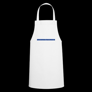 Thin blue Line Shirt (Police) - All gave some, som - Cooking Apron