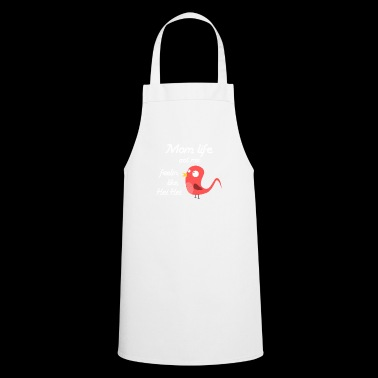 Funny Chicken Mom Life Mother's Day Mum Gift - Cooking Apron