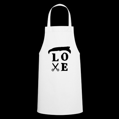 Love Hairs Tee Shirt - Cooking Apron
