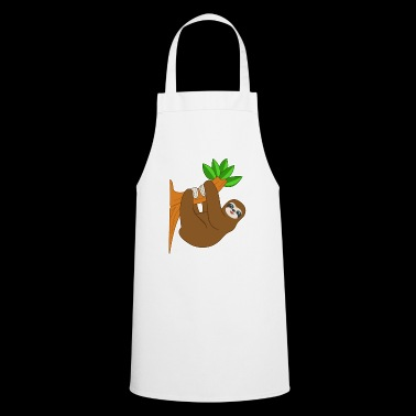 Laziness smile hug brown gift idea - Cooking Apron