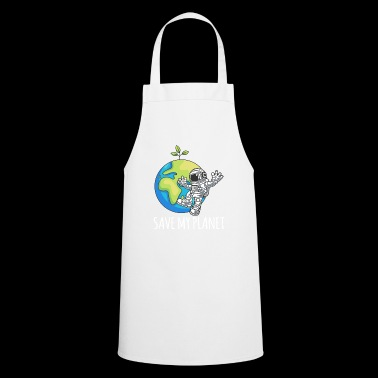 Astronaut Space Day Earth Gift Environment - Keukenschort