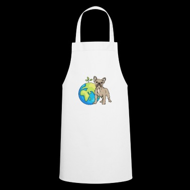 French Bulldog Earth Day Gift Umwel - Cooking Apron