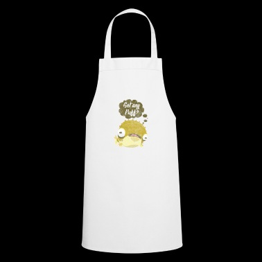 Puffer fish angler saying speech bubble comic - Cooking Apron