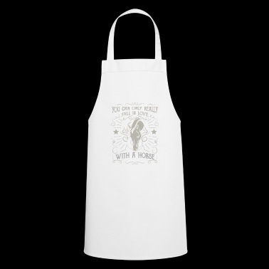 Horse Shirt · Horseback Riding · Equestrianism · in love horse - Cooking Apron
