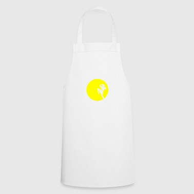 Muay Thai Thai boxer in the moonlight - Cooking Apron