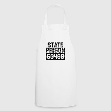 Prisoner of the State Prison Funny G - Cooking Apron