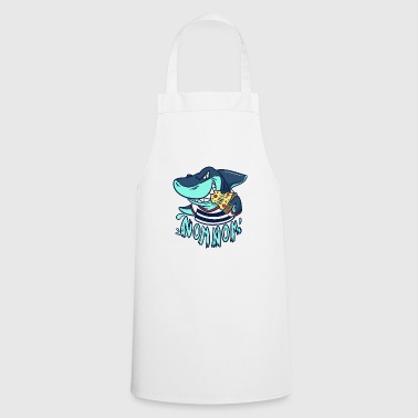 Pizza Munch - Gift - Shark - Pizza Pie - Cooking Apron