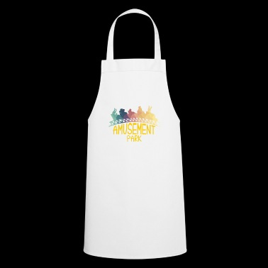 Amusement park silhouette ride gift idea - Cooking Apron