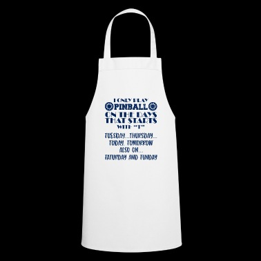 Pinball - Kicker - Football - Gift - 80s - Cooking Apron