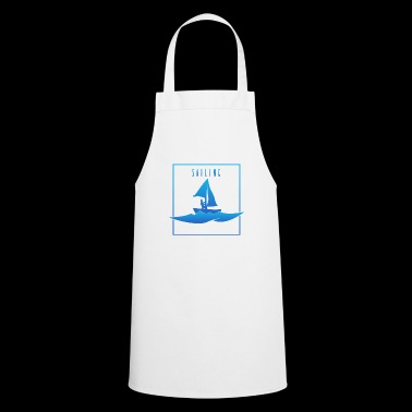 Sailing - Sailing, man on boat - Cooking Apron