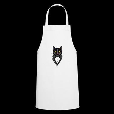 Cat in tuxedo with bow tie - Cooking Apron