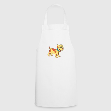Puppy - dog - dog puppy - Cooking Apron