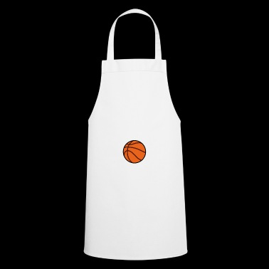 My Heart Is On That Court Basketball - Cooking Apron