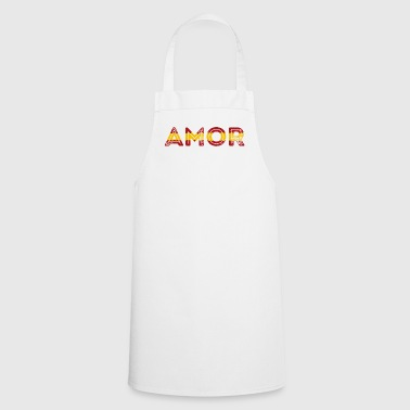 Spain Love Cupid Football Spain Fanshirt - Cooking Apron