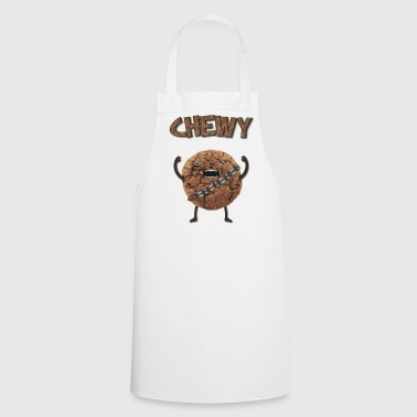 Funny Nerd Humor - Chewy Chocolate Cookie Wookiee - Cooking Apron