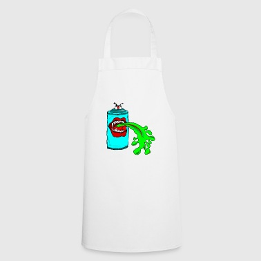 The puking spray can graffiti sprayer - Cooking Apron