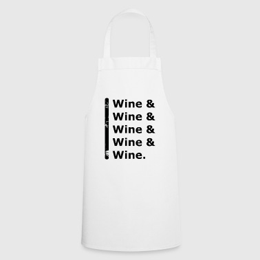 Wine & Wine - Cooking Apron