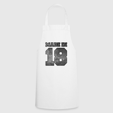 Made in 2018 college texture - Cooking Apron