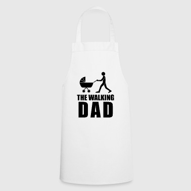 The Walking Dad black dad daddy's joys - Cooking Apron