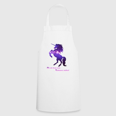 You can steal unicorns with me! - Cooking Apron