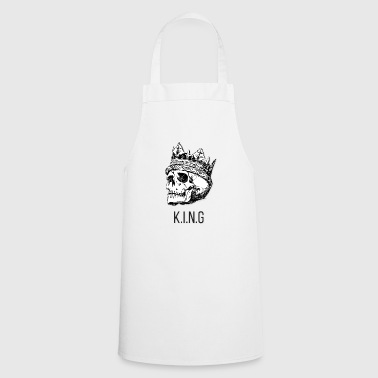 Premium KING & Skull Design - Cooking Apron