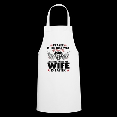 Messing with my Wife - Mother's Day gift - Cooking Apron