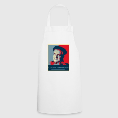 Lassalle-Obama For President - Cooking Apron