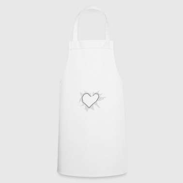 Right through the heart for drone pilots - Cooking Apron
