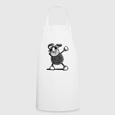Trendy Black Sheep Dab Danse - tamponnant Animaux - Tablier de cuisine