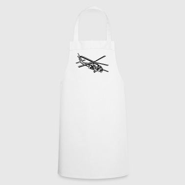 Helicopter / helicopter 01_black - Cooking Apron