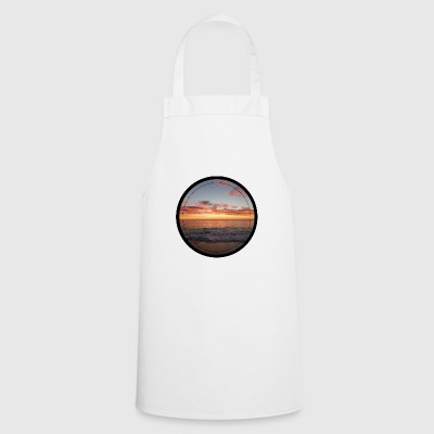 Sunset on the sea - Cooking Apron