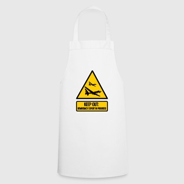 keep out: democracy export in progress - Cooking Apron