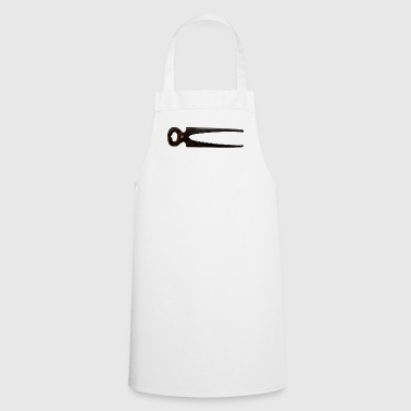 Pincers, rusty - Cooking Apron