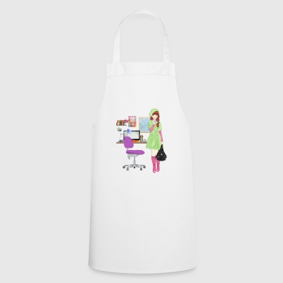 girl - Cooking Apron