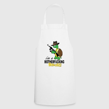 Gangster turtle gift Cool - Cooking Apron