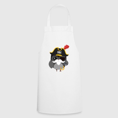 Pirate Owl / Pirate Owl - Cooking Apron