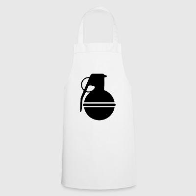 Grenade in black - Cooking Apron