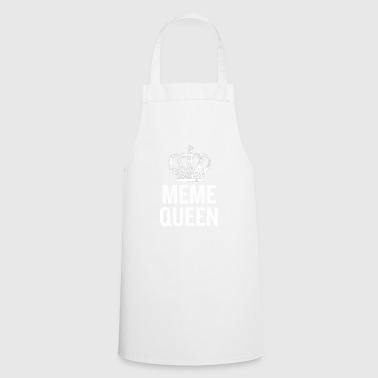 Meme Queen White - Cooking Apron