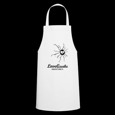 lovequake blak - Cooking Apron