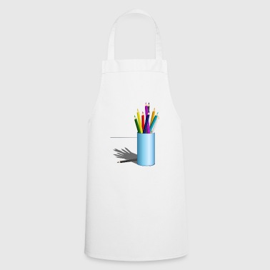 colored pencils - Cooking Apron
