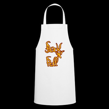 Rock n roll punk rock - Cooking Apron