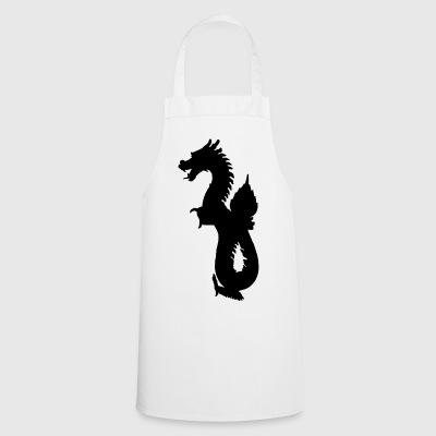 Dragon oriental - Tablier de cuisine