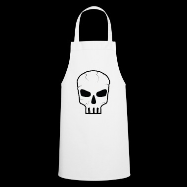 Skull Black - Cooking Apron