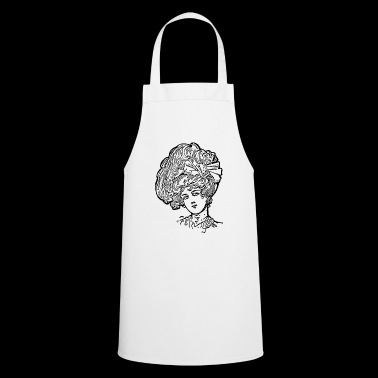 Woman hairstyle - Cooking Apron