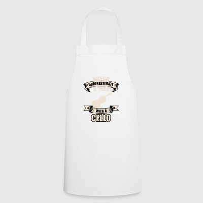 Cello T-Shirt Gift Idea Christmas Funny - Cooking Apron