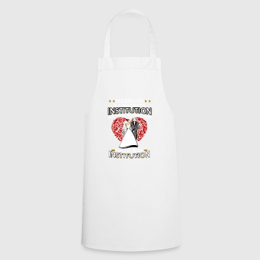 Wedding marriage bridal couple wedding party gift - Cooking Apron