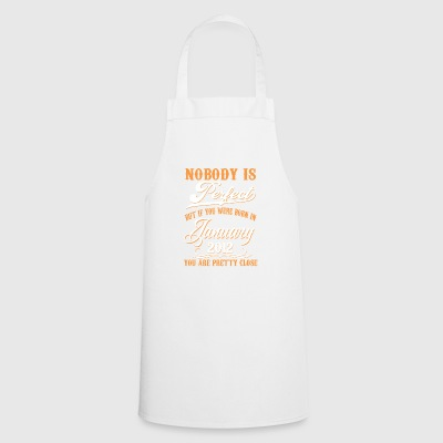If You Born In January 2012 - Cooking Apron