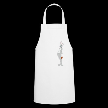 Sexy cute Easter bunny is coming for eggs - Cooking Apron